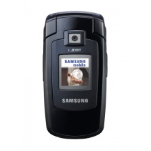 Samsung SGH-E380 Klapphandy blue black Bild 1