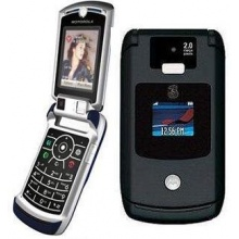 Handy Motorola V3x Black Klapphandy Bild 1