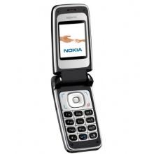 Nokia 6125 schwarz silber Klapphandy Bild 1