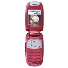 Samsung SGH E570 pink Klapphandy Bild 1