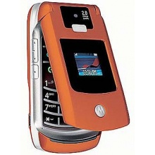 Handy Motorola V3x Pumpkin Klapphandy Bild 1