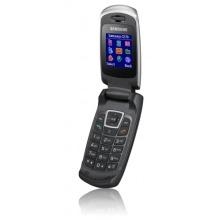 Samsung SGH-C270 white silver Klapphandy Bild 1