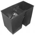 BoFiTec Teichfilter schwarz Spaltsieb-Bogensieb 150µ mit Schmutzauslass Bild 1