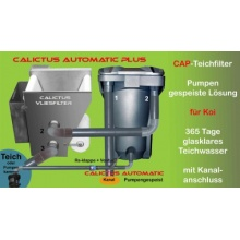 Der CAP-teichfilter: Calictus Automatik mit Calictus Vliesfilter Bild 1