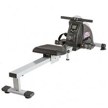 Rudergerät Ruderzugmaschine Fitnessgerät mit Trainingscomputer von TecTake Bild 1