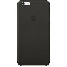Apple Leder Hülle iPhone 6 Plus schwarz Bild 1