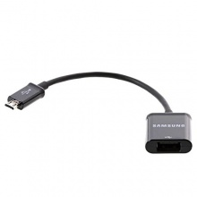 Samsung Original micro-USB-Adapter schwarz Bild 1