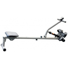 Start Rudergerät, hydraulisch, silberfarben / Grau / Schwarz von V-Fit Bild 1