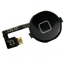 Original Iphone 4 Home button Homebutton mit flexkabel Schalter schwarz Bild 1
