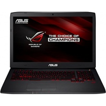 Asus G751JT-T7032H Gaming Notebook, 17,3 Zoll, Intel Core i7 4710HQ, 2,5GHz, 8GB RAM Bild 1