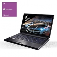 KCSmobile 181169 Gaming Notebook Intel Core i7 4x 2.5 GHz Quadcore Bild 1