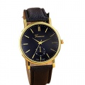 Amonfineshop Unisex-Lederband-Analog-Quarz-Armbanduhr Uhren Vogue Bild 1