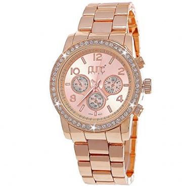Pure Time Designer Damen Analog Armbanduhr rose Bild 1