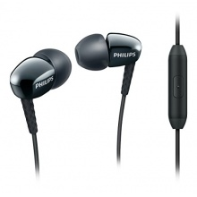 Philips SHE3905BK/00 In-Ear-Kopfhörer mit Mikrofon schwarz Bild 1