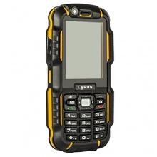 CYRUS CM15 Outdoor Handy Dual SIM schwarz gelb Bild 1