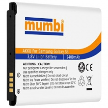 mumbi Power Ersatz Akku Samsung Galaxy S3 i9300 S3 Neo Bild 1