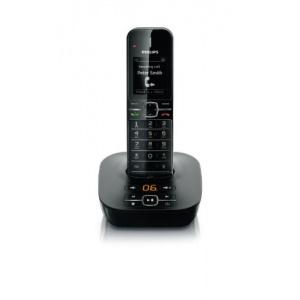 Philips CD4851B/DE Schnurlos DECT Telefon schwarz Bild 1