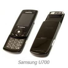 Samsung SGH U700 Schwarz Slider Handy Bild 1