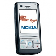 Nokia 6280 Slider Handy carbon black Bild 1