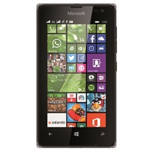 Microsoft Lumia 532 Smartphone schwarz Bild 1