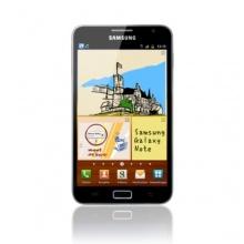 Samsung Galaxy Note N7000 Smartphone carbon blue Bild 1