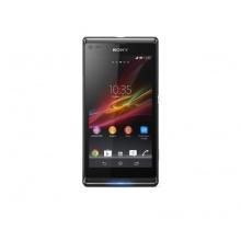 Sony Xperia L Smartphone  schwarz Bild 1