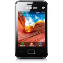 Samsung Star 3 S5220 Smartphone modern black Bild 1