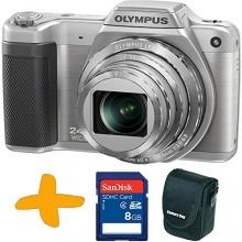 Olympus SZ-15 Bridgekamera 16 Megapixel silber Bild 1