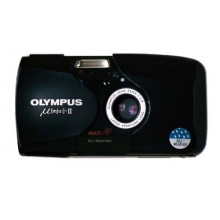 Olympus MJU II Kleinbildkamera schwarz Bild 1
