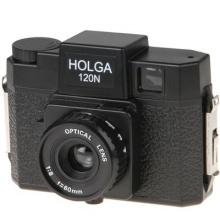 Holga 120N Kleinbildkamera schwarz Bild 1