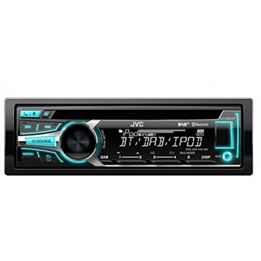 JVC KD-DB95BTE Autoradio USB CD Receiver mit Bluetooth schwarz Bild 1