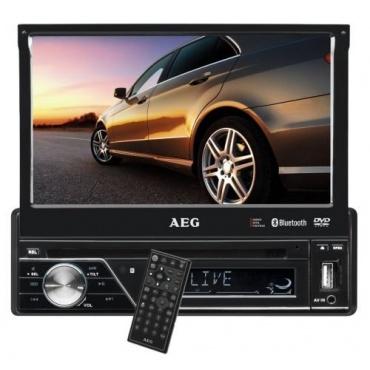 AEG AR 4026 Autoradio 7 Zoll LCD-Display Touchscreen USB schwarz Bild 1