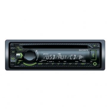 Sony CDX-G1002U Autoradio mit CD Player USB schwarz Bild 1
