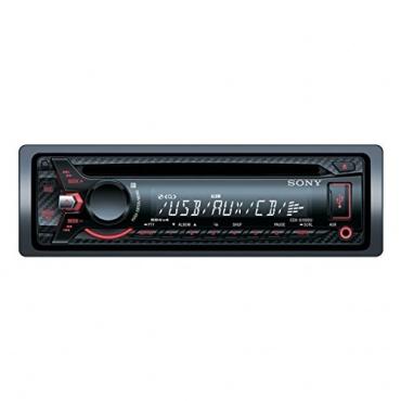 Sony CDX-G1000U Autoradio AUX-Eingang USB 4x 55 Watt Bild 1