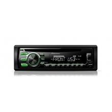 Pioneer DEH-1700UBG CD-Tuner Autoradio schwarz Bild 1