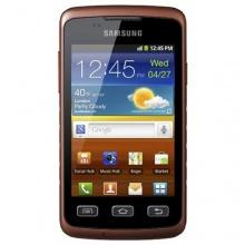 Samsung Galaxy Xcover S5690 Smartphone schwaz orange Bild 1