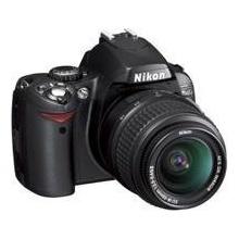 Nikon D40 SLR-Digitalkamera (6 Megapixel) schwarz Bild 1