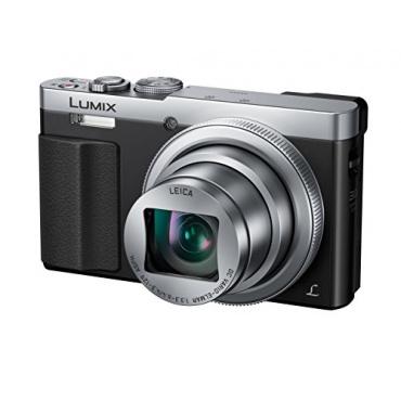Panasonic DMC-TZ71EG-S Lumix Kompaktkamera 12,1 Megapixel silber Bild 1