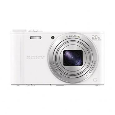 Sony DSC-WX350 Digitalkamera Kompaktkamera 18,2 Megapixel weiß Bild 1