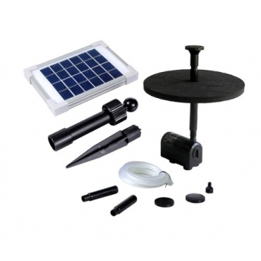 pk green solar springbrunnen teichpumpe f r garten test. Black Bedroom Furniture Sets. Home Design Ideas