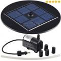 AT-1,5W Solar Teichpumpe 1,5 Watt Hmax Bild 1