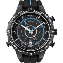 Timex Herren-Armbanduhr XL Timex IQ Tide Temp Compass Analog Quarz Kautschuk T49859D7 Bild 1