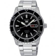 Seiko Herren Analog Armbanduhr XL Seiko 5 Sports Analog Automatik Edelstahl SNZH55K1 Bild 1