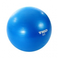 TKO Anti-Burst Gymnastikball 65 cm, blau, 65 cm Bild 1