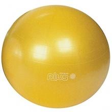 Gymnic Plus 65 cm Gymnastikball Gelb Bild 1