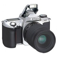Nikon F65 Spiegelreflexkamera silber Bild 1