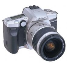 Minolta Dynax 4 Spiegelreflexkamera silber  Bild 1