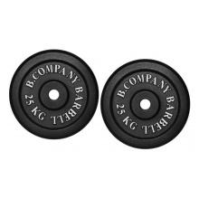 Guss 50,0Kg (2x25,0) Hantelscheiben Hantel Gewichte, 30/31mm Bild 1