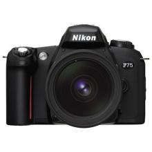 Nikon F75  Spiegelreflexkamera schwarz Bild 1