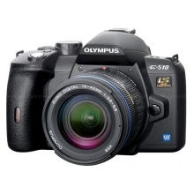 Olympus E-510 SLR-Digitalkamera Spiegelreflexkamera 10 Megapixel Bild 1